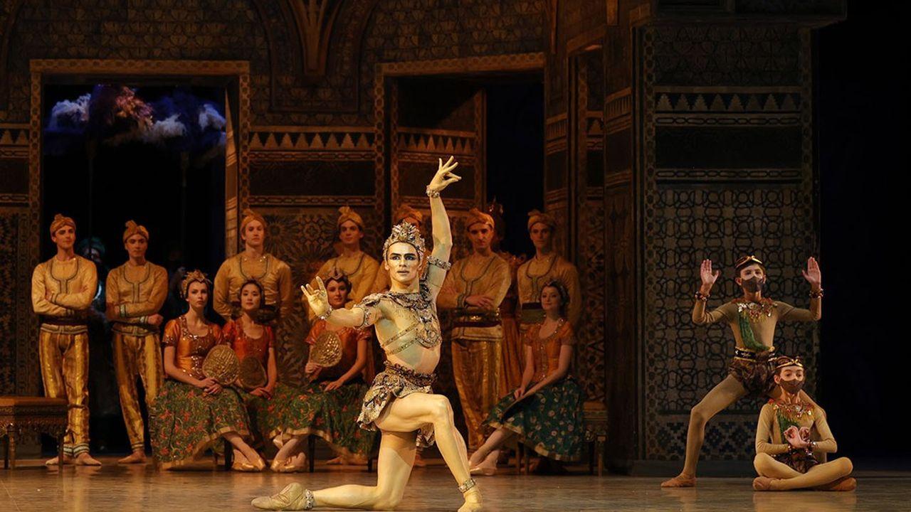 Paul Marque, en Idole dorée, a été nommé étoile à la fin de la représentation.