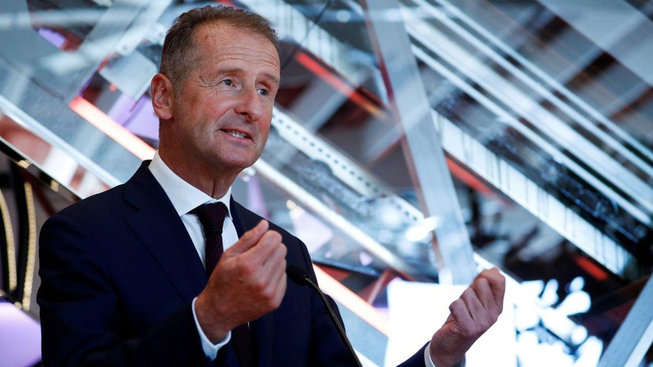 Herbert Diess, PDG de Volkswagen depuis 2015, reste en poste jusqu'en 2023 comme prévu. Le conseil de surveillance a refusé de se prononcer sur une éventuelle prolongation.