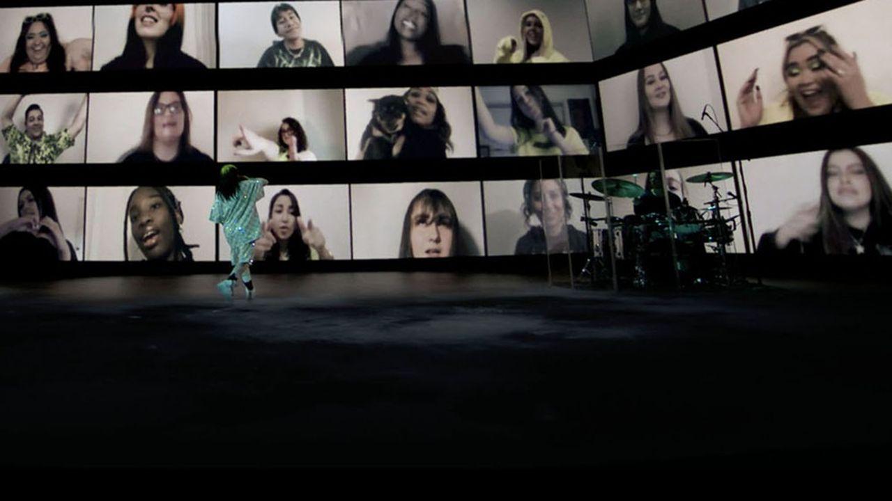 « Where Do We Go ? », performance de Billie Eilish en live stream le 24 octobre 2020.
