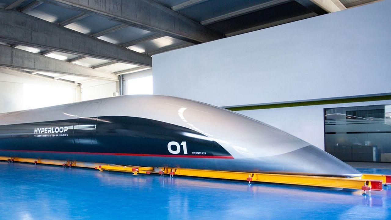 La jeune pousse a fait fabriquer une capsule en composite, mais elle n'a pas construit le tube d'essai de 1km posé sur des pylônes prévus en 2020 à Toulouse.