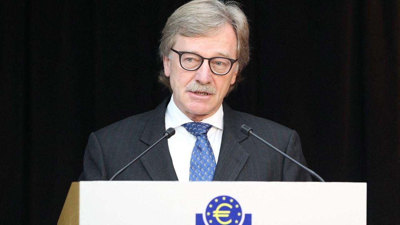 Yves Mersch, membre du directoire de la BCE jusqu'au 14décembre 2020, était perçu comme un faucon modéré.