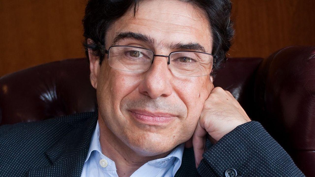 L'économiste Philippe Aghion, professeur au Collège de France et, depuis ce quatrième trimestre 2020, à l'Insead.