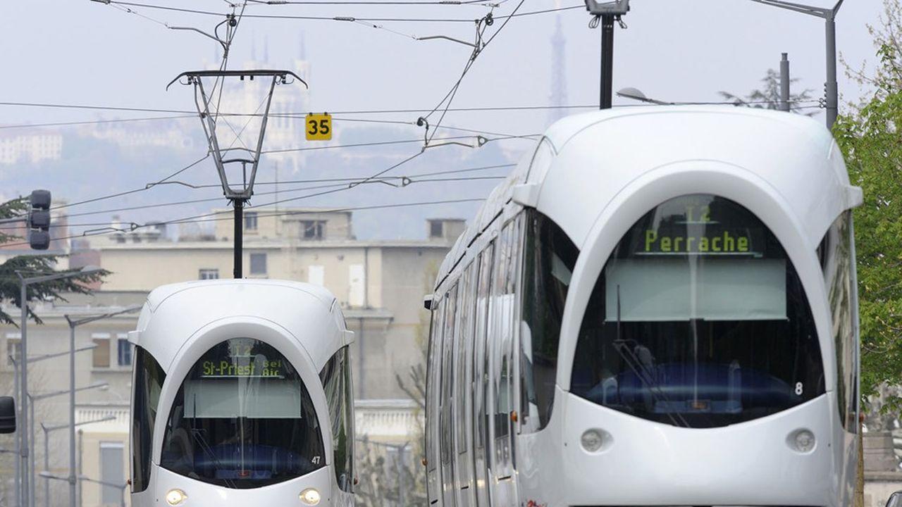 Le Sytral va consacrer une partie de ces budgets à de nouvelles lignes de tramway, avec au total 25 kilomètres de rails supplémentaires.
