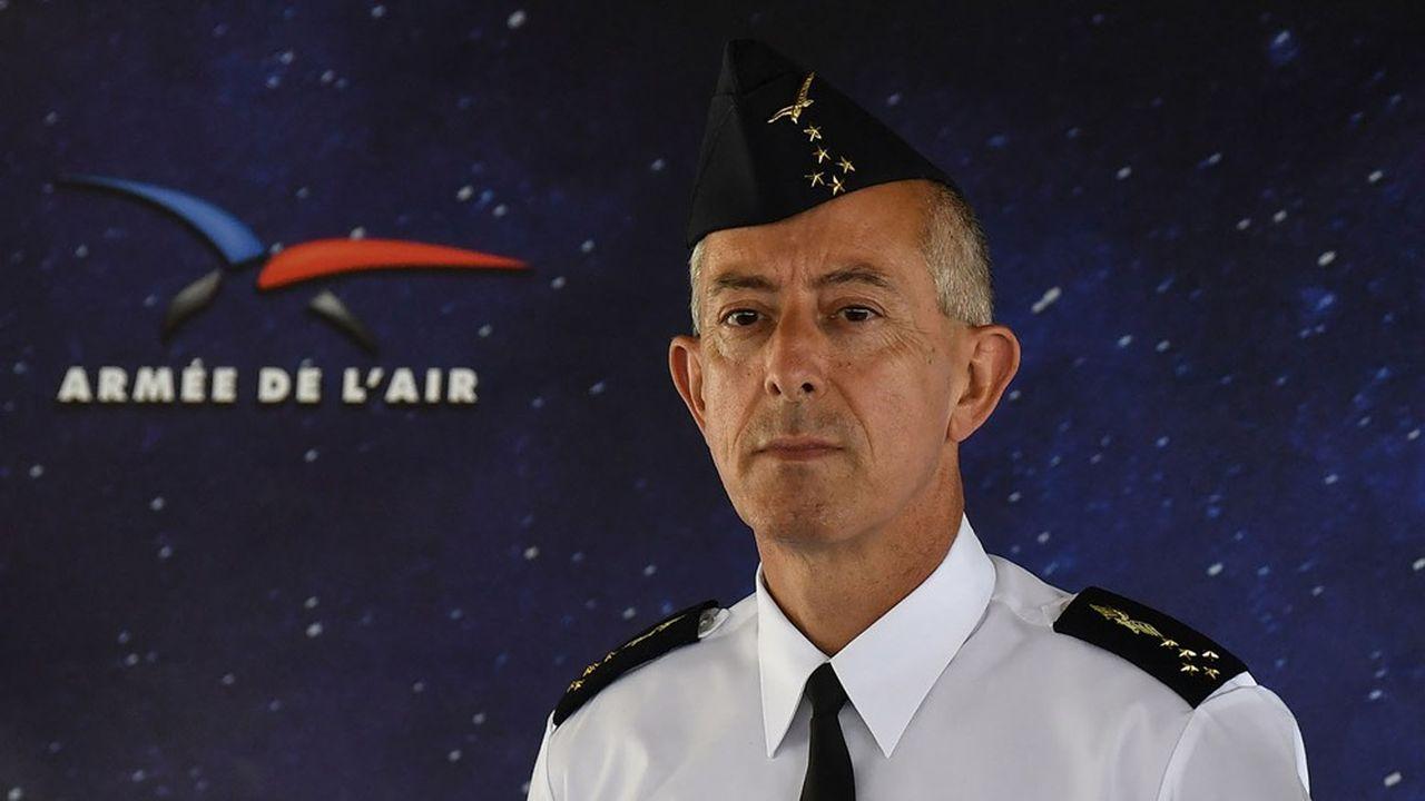 Nommé chef d'état-major de l'Armée de l'air en août2018, Philippe Lavigne est devenu en juillet dernier le premier chef d'état-major de l'Armée de l'air et de l'espace.