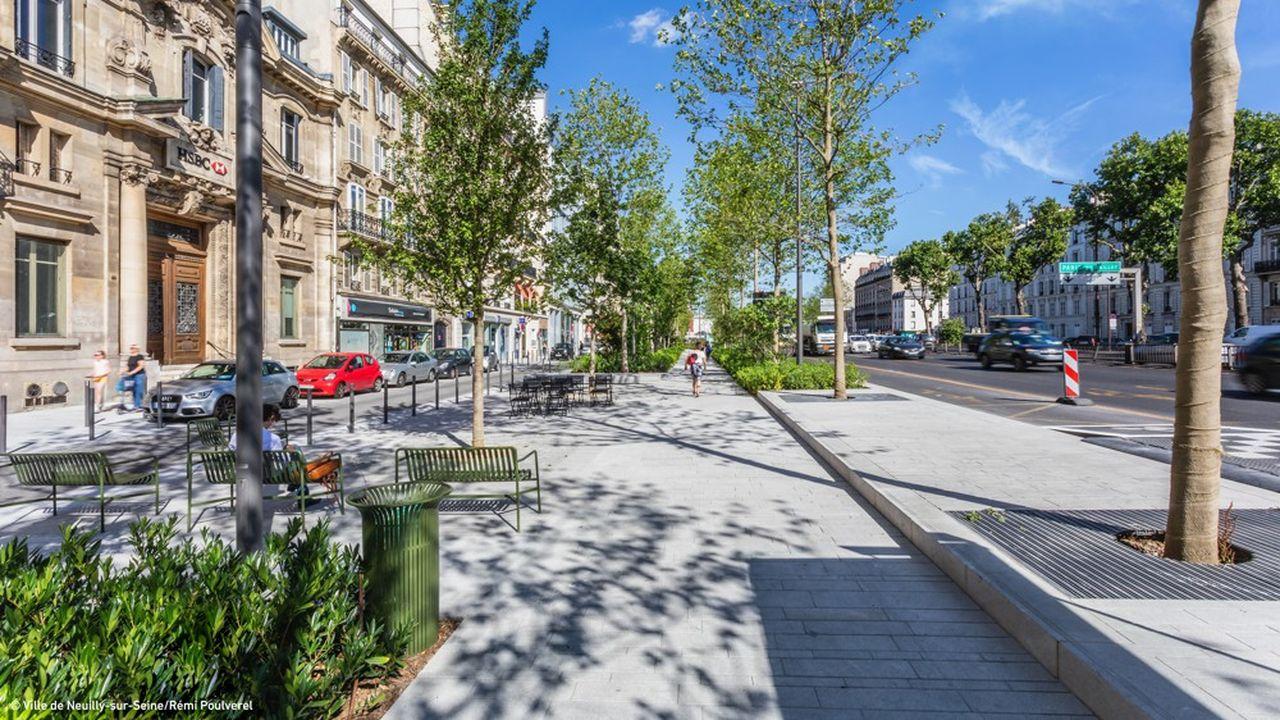 Issy-les-Moulineaux et Neuilly-sur-Seine ont été distinguées dans la catégorie «Innovations urbaines architecturales, paysagères et environnementales»