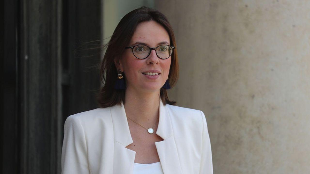 La ministre de la Fonction publique, Amélie de Montchalin.