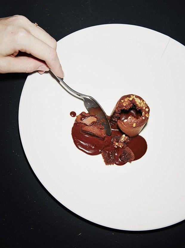 Coulant au chocolat de Michel et Sébastien Bras.