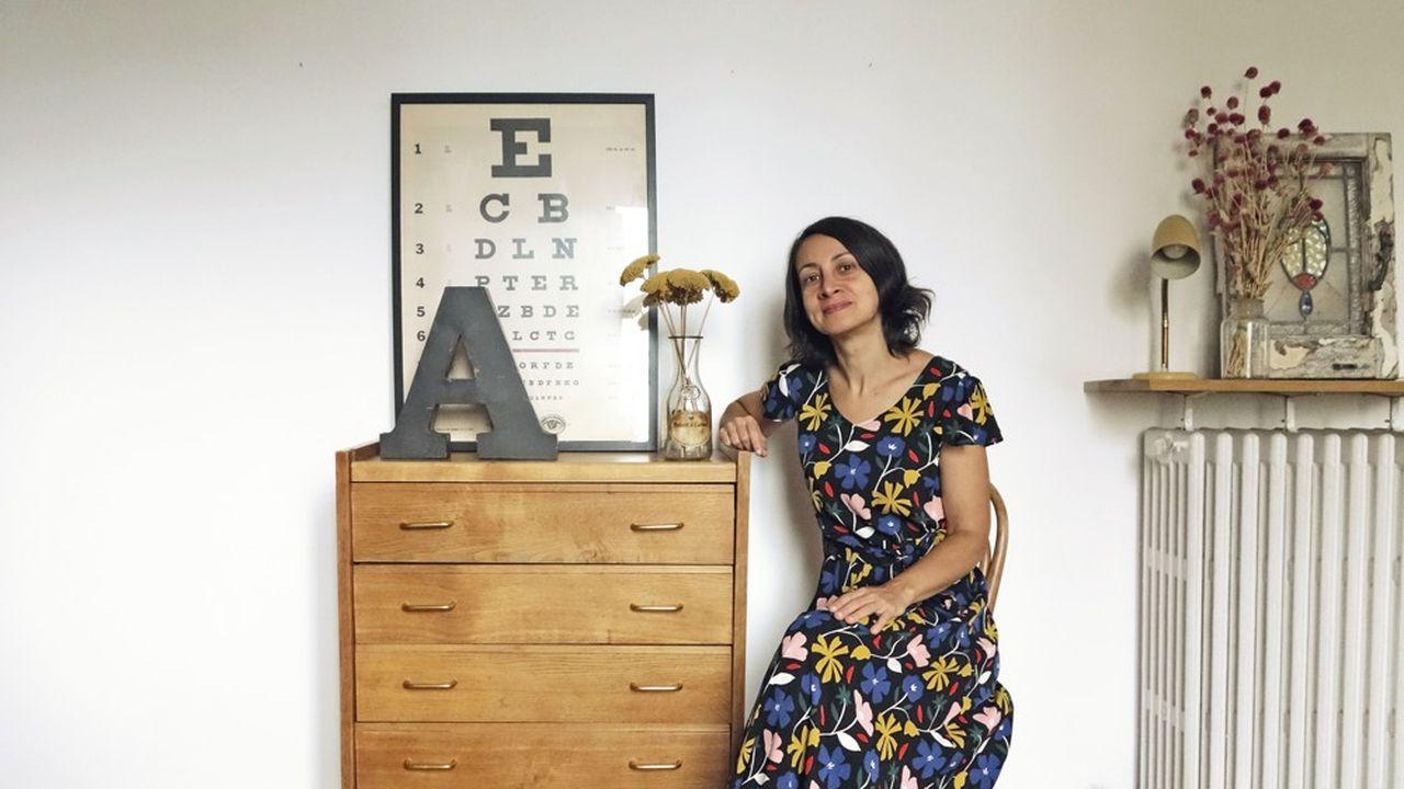 Architecte à Paris pendant douze ans, Silvana Mastronicola s'est reconvertie brocanteuse.