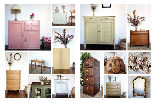 Silvana Mastronicola achète des meubles, les restaure puis les revend grâce à Instagram.