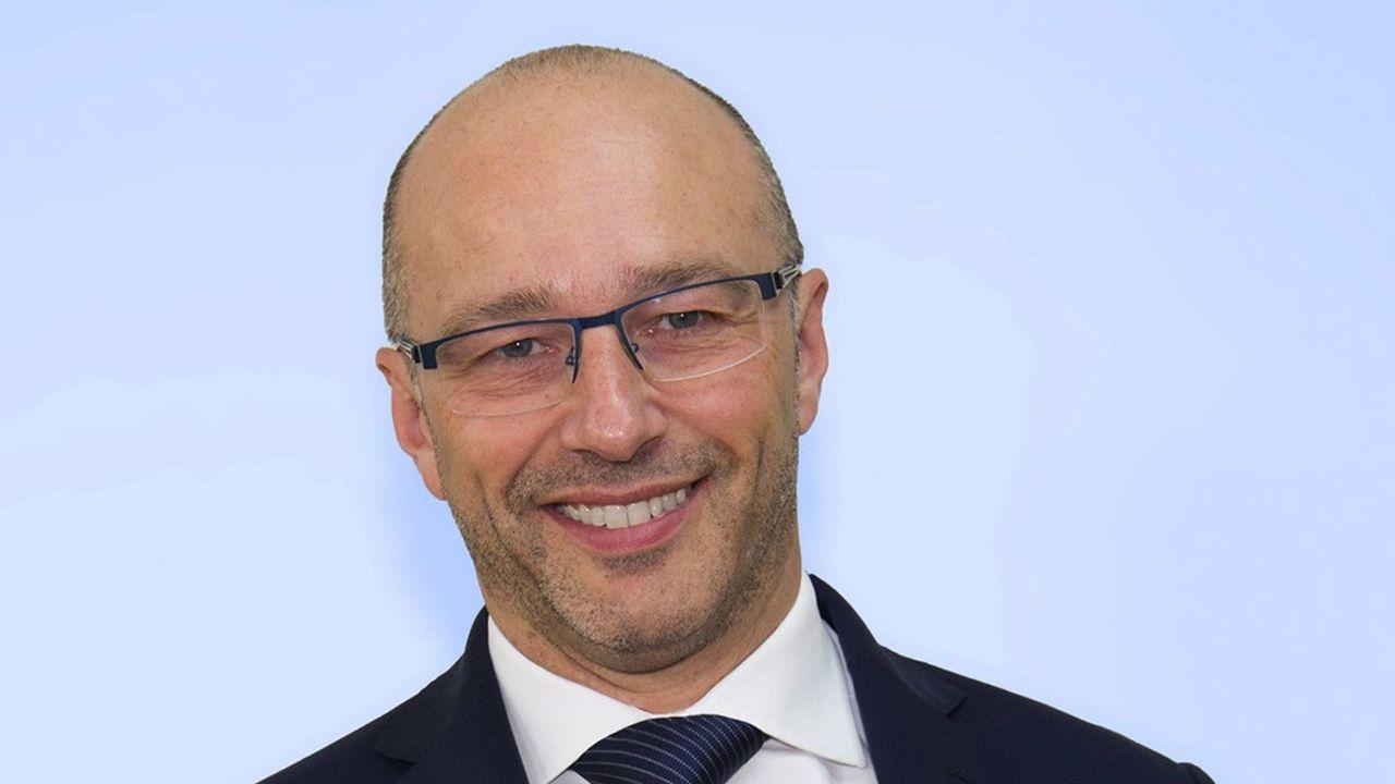 Boris Lombard, président France de KSB, industriel allemand spécialisé dans les systèmes de pompes et de robinetterie.