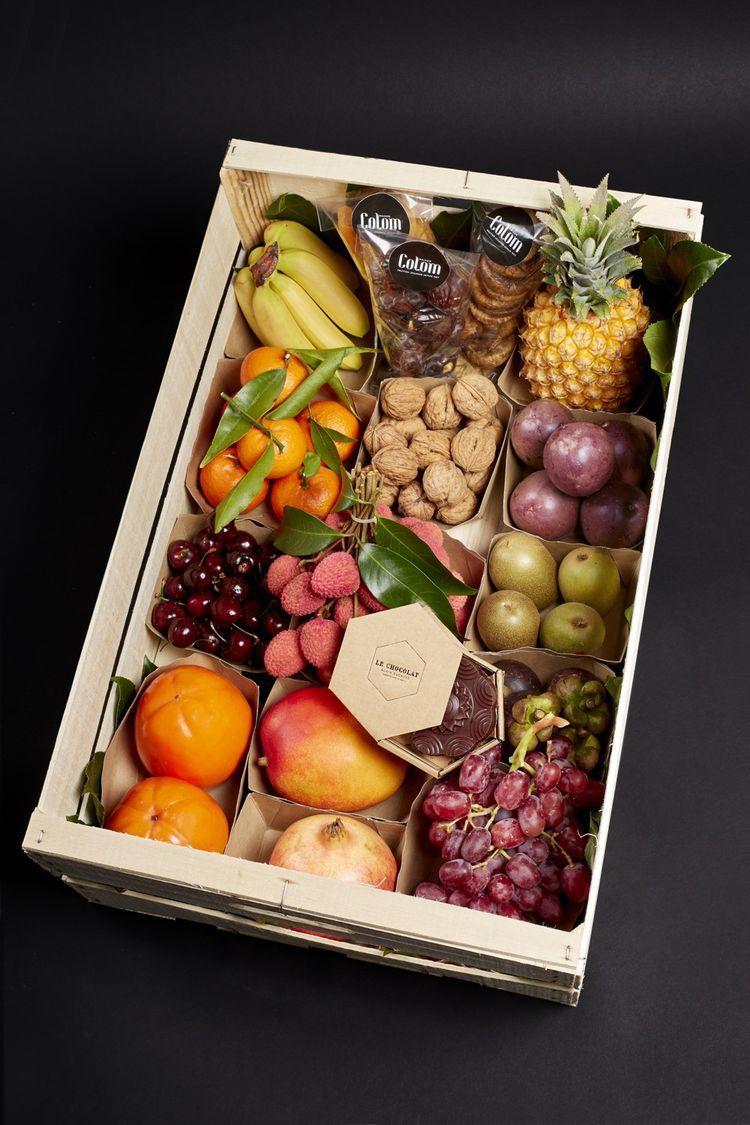 Le plateau de fruits de Maison Colom.