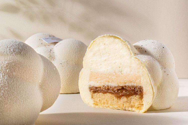 Cirrus, le gâteau au CBD de Philippe Conticini