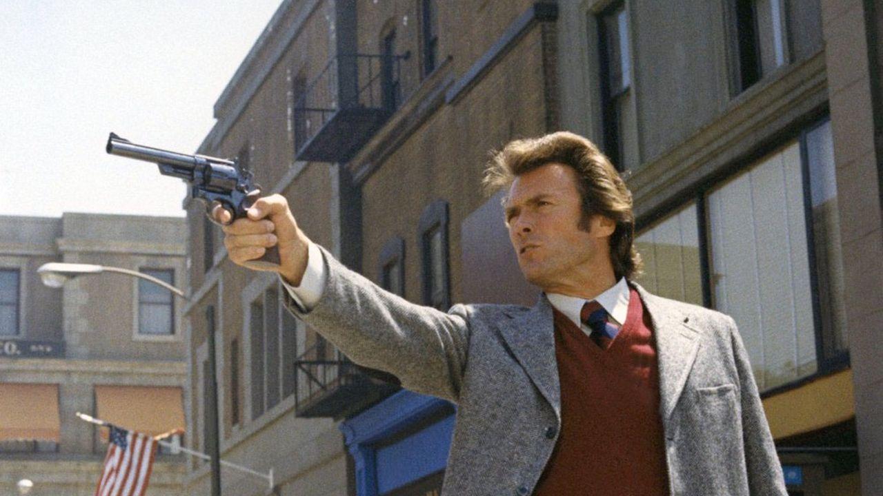 Clint Eastwood dans « L'inspecteur Harry» de Don Siegel (1972)