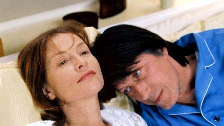 Isabelle Huppert et Jacques Dutronc dans « Merci pour le chocolat » de Claude Chabrol (2000).