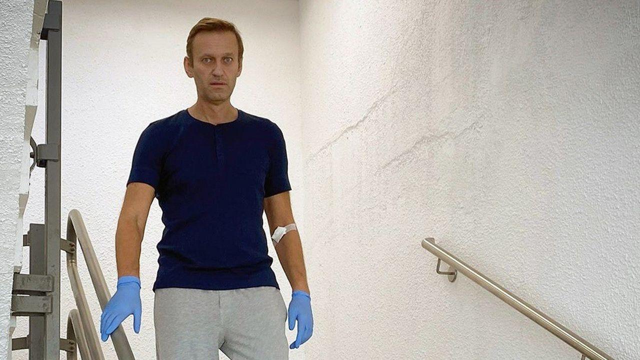 L'adversaire Alexei Navalny affirme avoir piégé un agent impliqué dans son empoisonnement