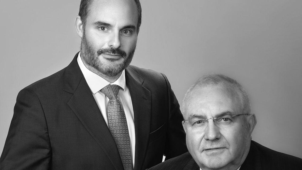 Julien Rozet, président du directoire d'Alexander Hughes a succédé à son père, Maurice Rozet