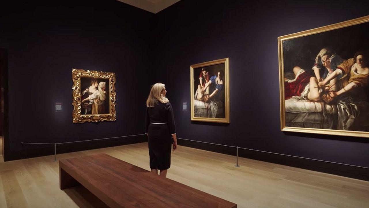 Visite virtuelle de l'exposition Artemisia avec sa commissaire, Letizia Treves.