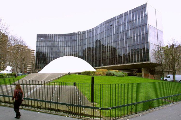 Le célèbre siège du PCF, place Colonel-Fabien, à Paris.