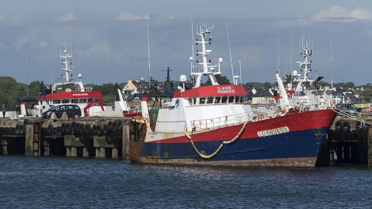 Scapêche, premier armateur de pêche français et filiale d'Intermarché, réalise les deux-tiers de ses activités dans les eaux britanniques, principalement à partir de Lorient (ici le chalutier Claude Moinier II.