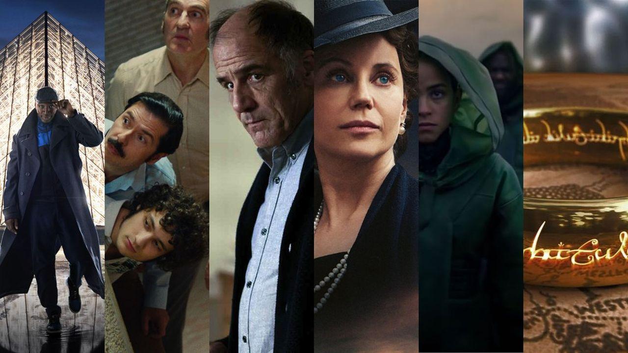 Lupin, Ovni(s), En Thérapie, Atlantic Crossing, Fondation et le Seigneur des anneaux parmi les séries les plus attendues cette année.