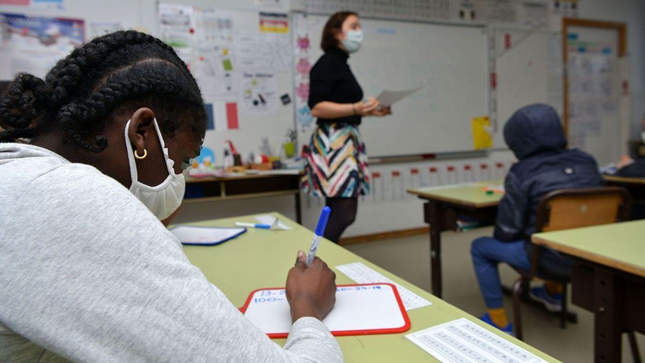 Les enfants et adolescents français on fait leur rentrée ce lundi «comme prévu».