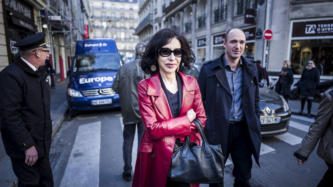 Yasmina Reza, prix Renaudot 2016 pour «Babylone».