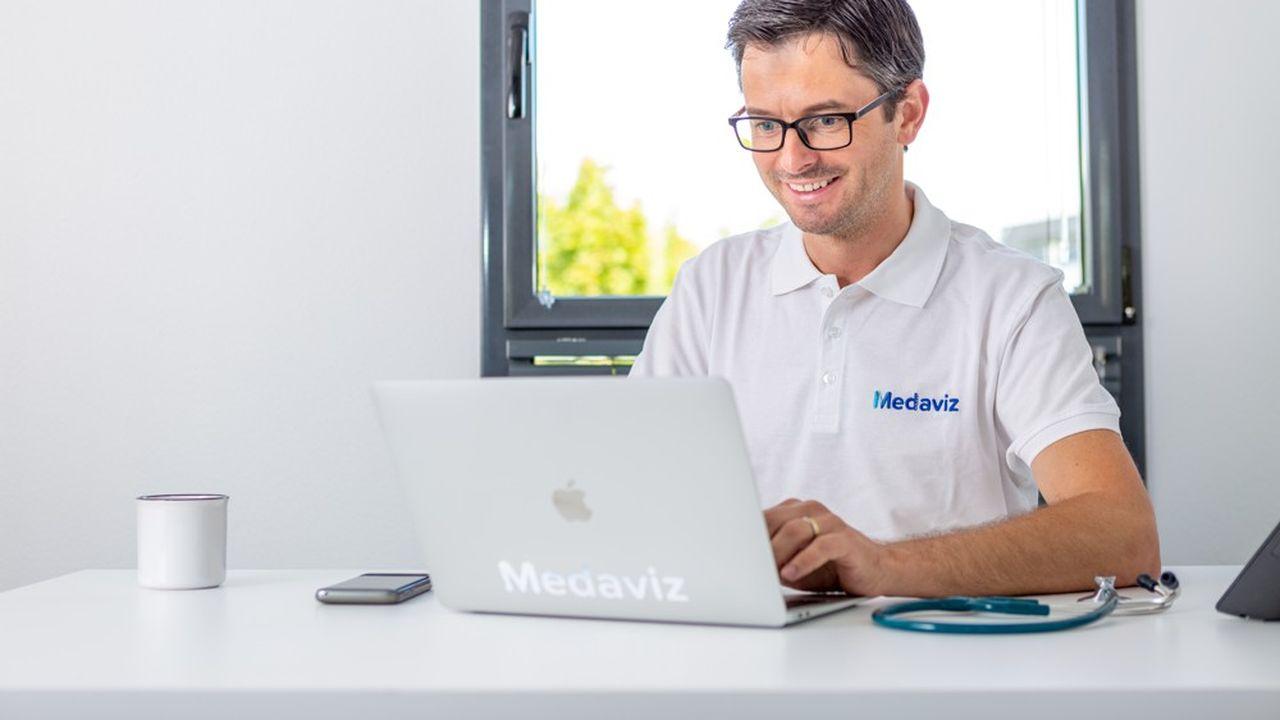 Les médecins ont accès gratuitement à la plateforme de téléconsultation de Medaviz.