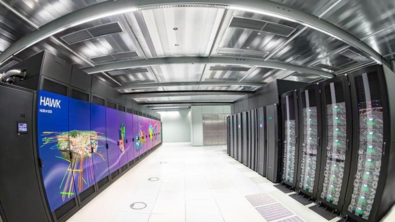 L'ordinateur Hawk est classé au 16e rang mondial des 500 supercalculateurs les plus puissants au monde