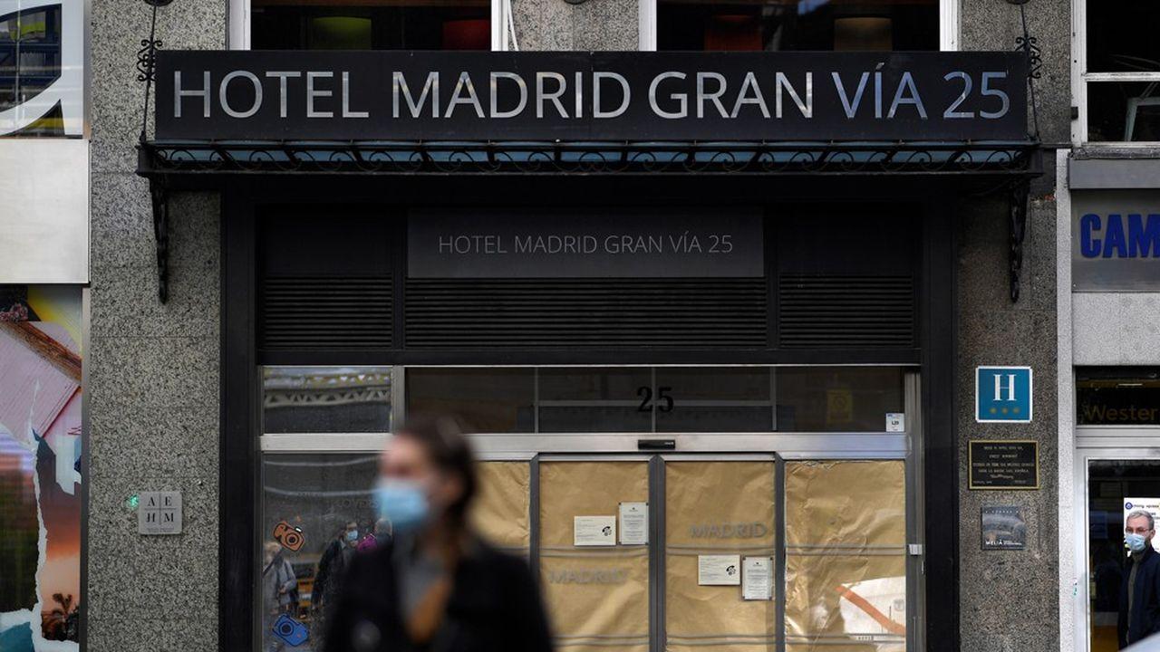 En Espagne le secteur de l'hôtellerie a perdu 20% de ses emplois en 2020.