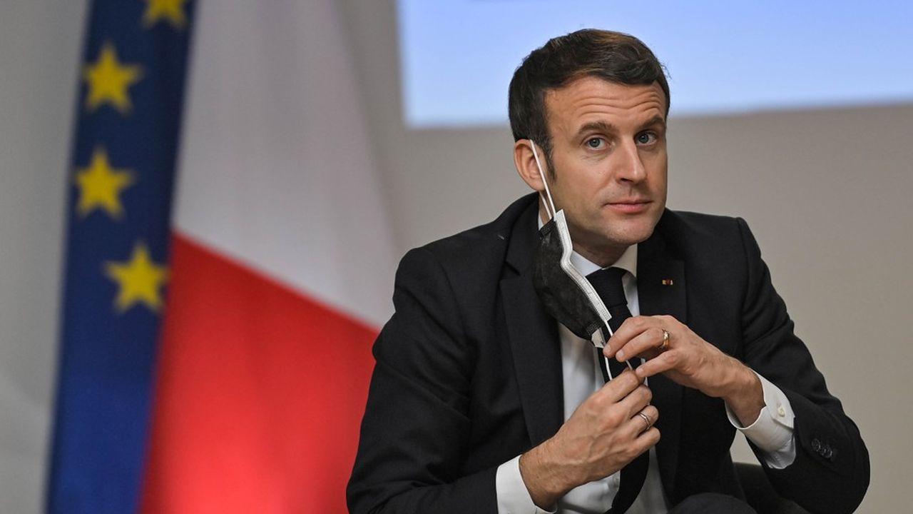 Ce mardi, à Tours, Emmanuel Macron a insisté sur les mesures d'ordre social prises depuis le début du quinquennat pour rappeler la «cohérence» de son mandat.