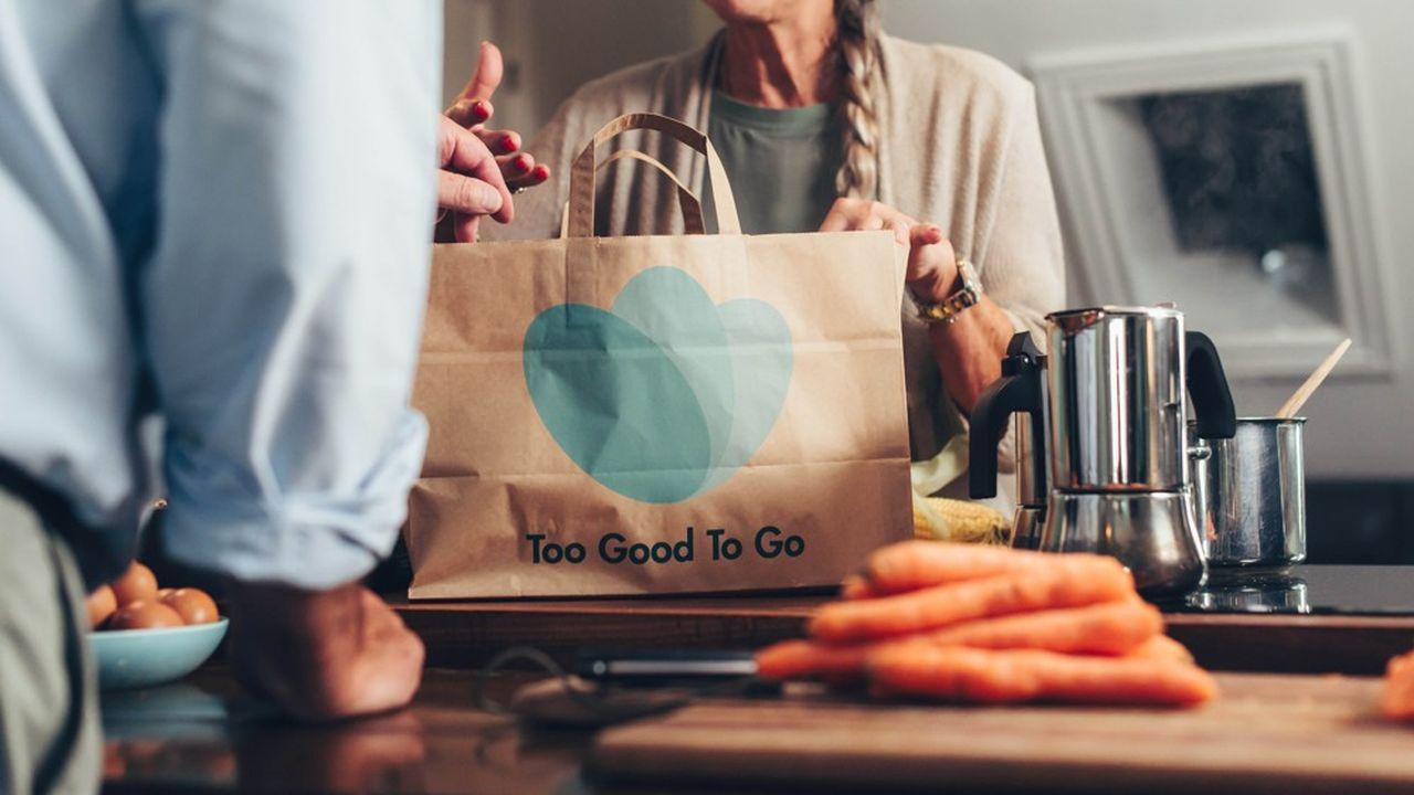 Avec son application, Too Good To Go connecte petits commerçants indépendants et supermarchés aux consommateurs pour écouler leurs invendus alimentaires sous forme de panier surprise. Depuis sa création, en 2016, la start-up revendique 60millions de repas sauvés.