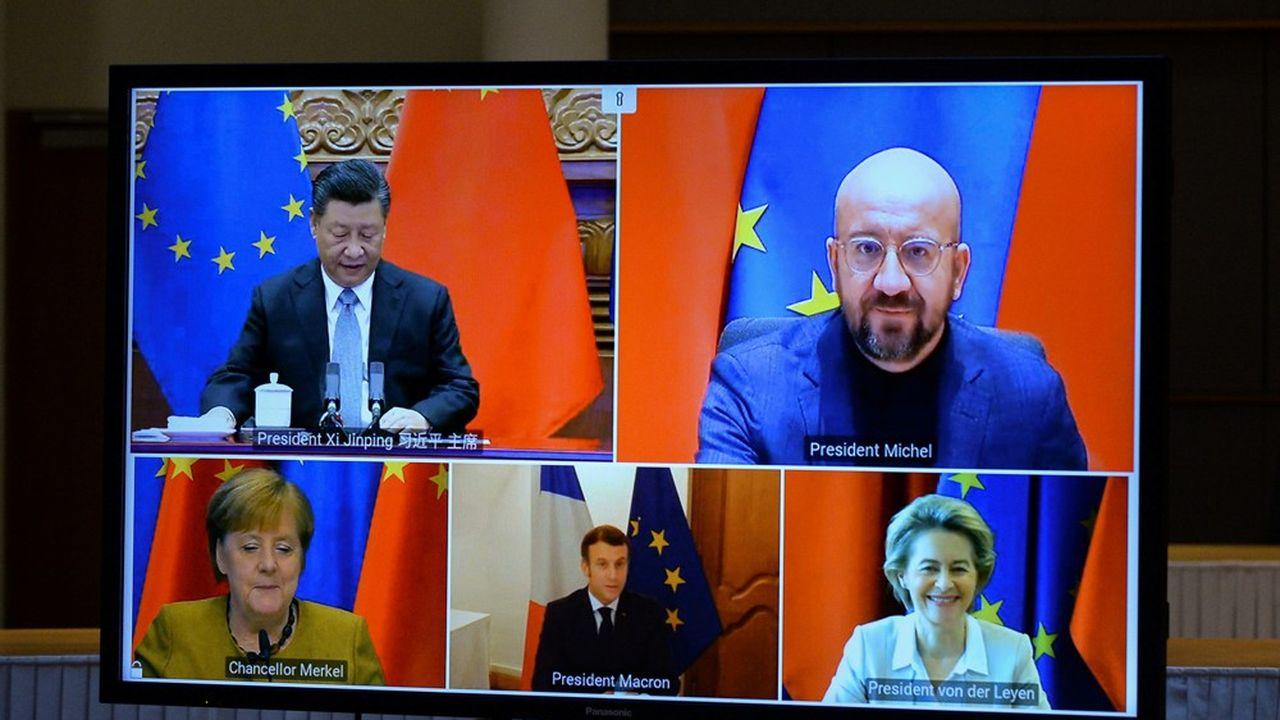 L'accord avec Pékin, poussé par Berlin et accepté par Paris, suscite des critiques compte tenu du contexte politique en Chine.