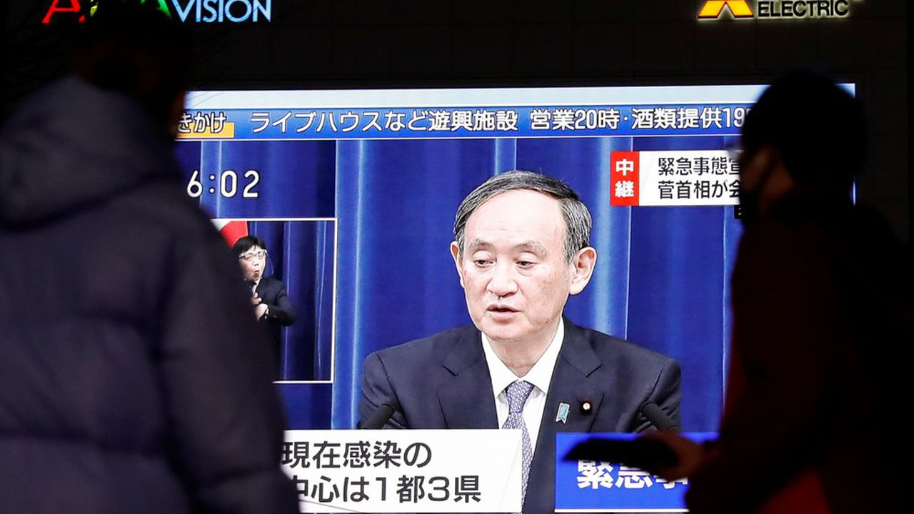 Ce jeudi, la municipalité de Tokyo a identifié 2.477 infections dans les dernières 24heures. Un record depuis le début l'épidémie il y a un an.