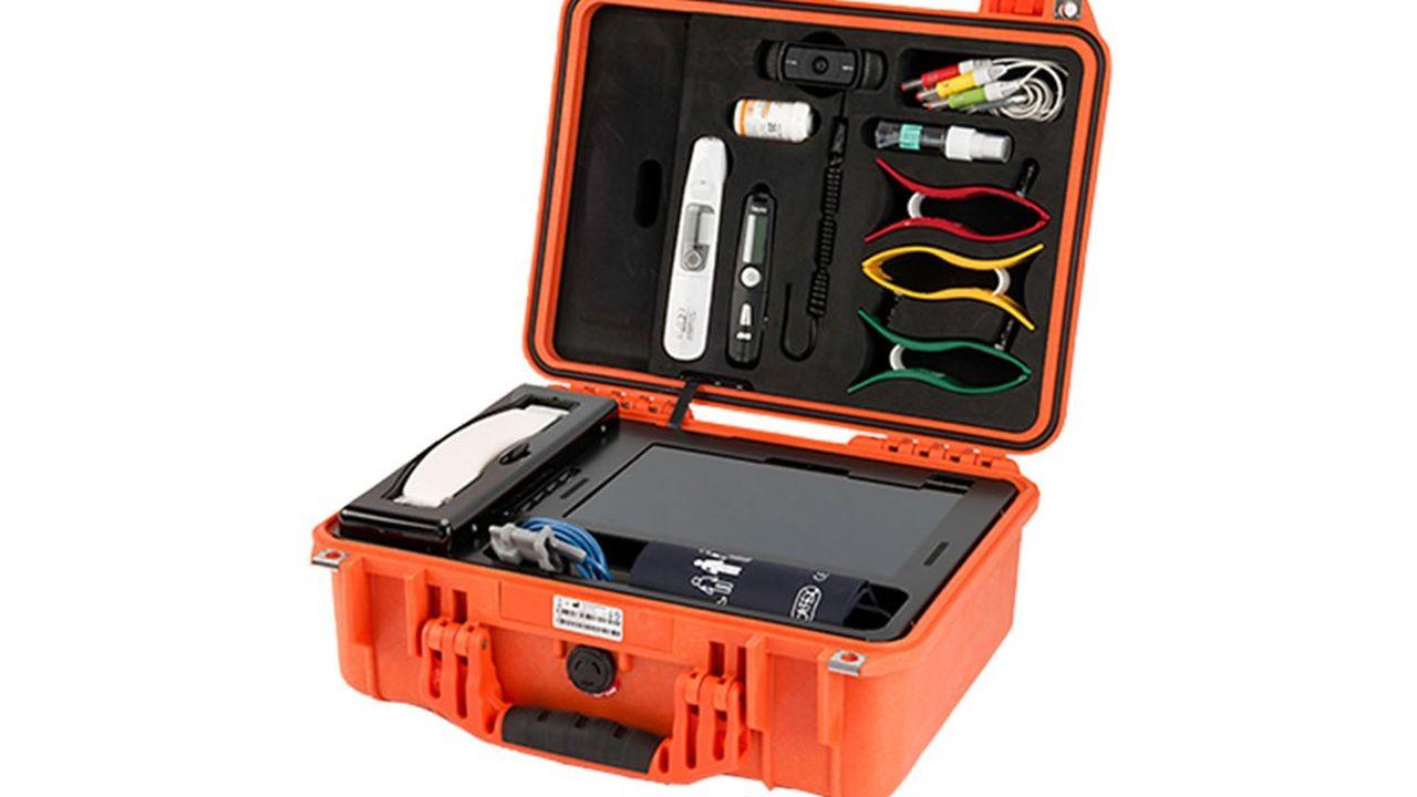 Parsys Télémédecine conçoit des valises clés en main de télémédecine