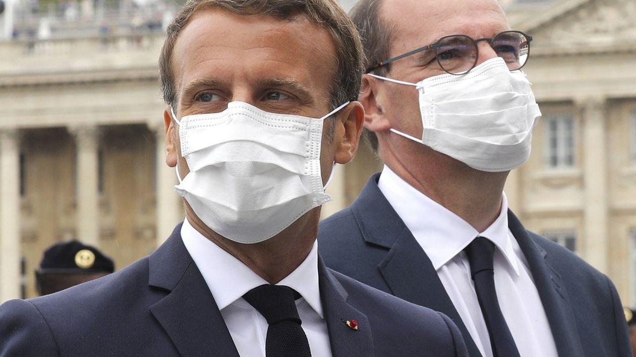 Avec 10 points d'écart - 35% contre 25% - la différence de cote de confiance entre Emmanuel Macron et son Premier ministre n'a jamais été aussi élevée depuis le début du quinquennat.