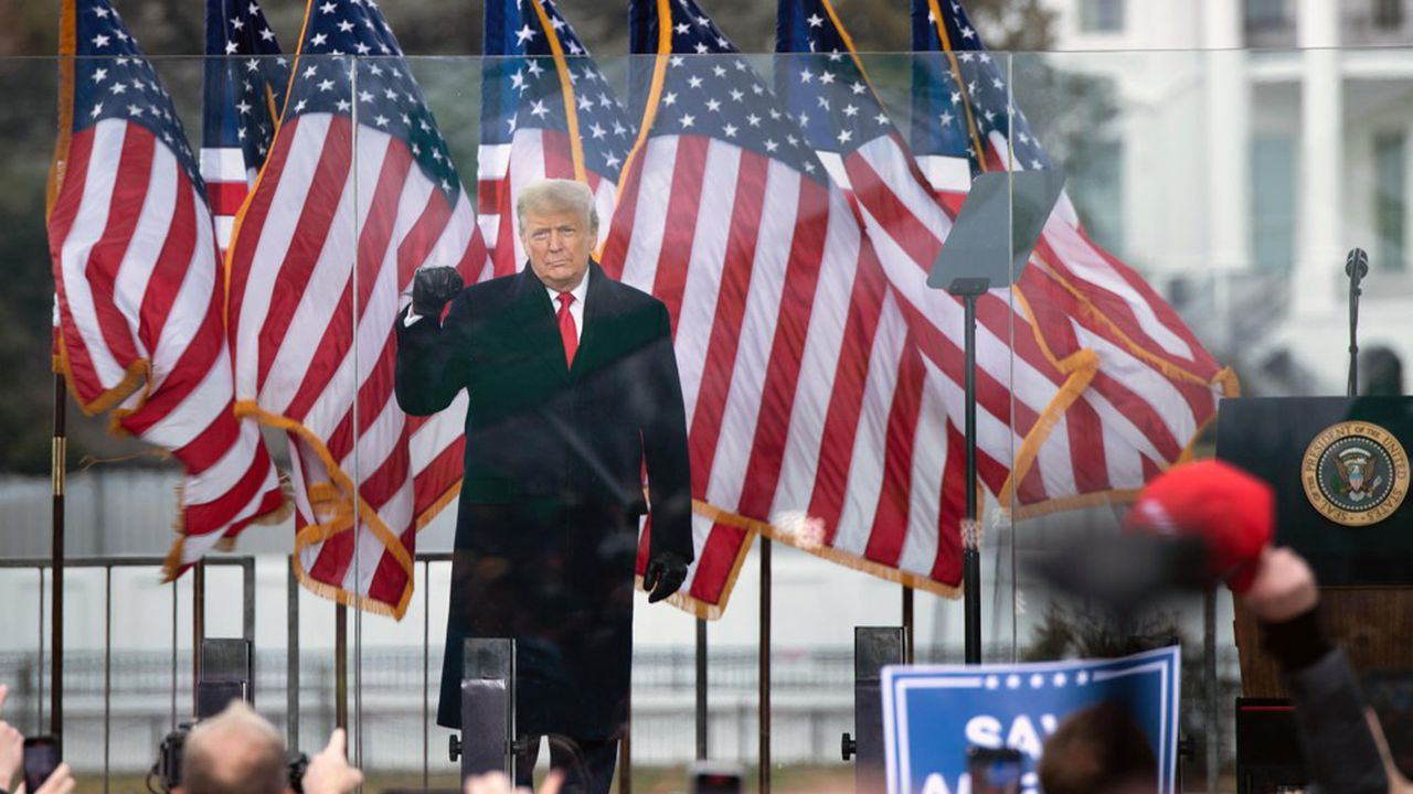 Donald Trump perdra son immunité judiciaire le 20janvier à midi, au moment de l'investiture de Joe Biden.