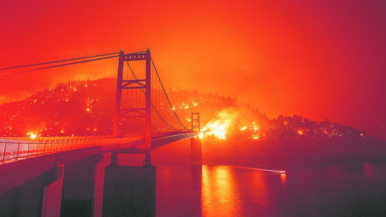 Les incendies aux Etats-Unis ont provoqué 16milliards de dollars de dégâts l'an dernier.