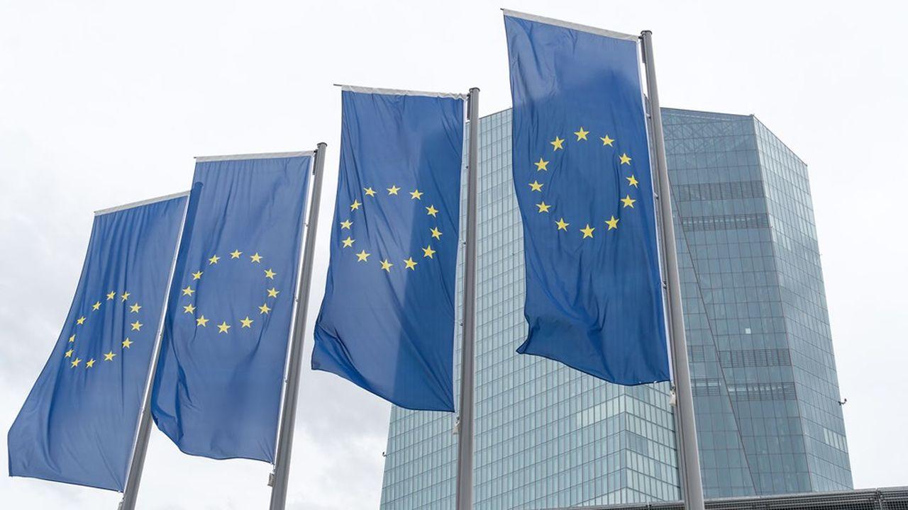 Les banques européennes ont bénéficié de près de 1.800milliards d'euros de prêts de la BCE à des taux très avantageux.