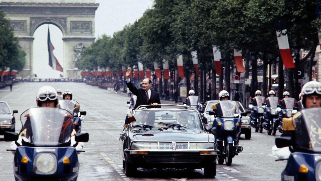 10 mai 1981, Mitterrand accède au pouvoir