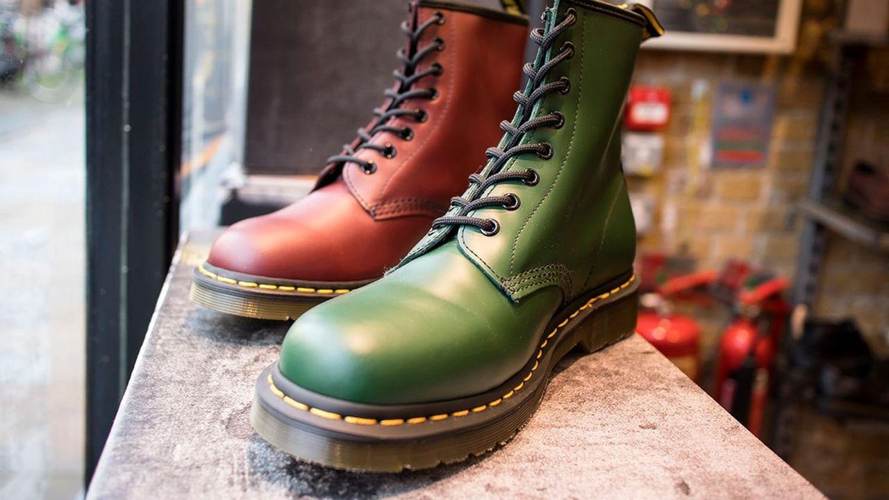 Dr. Martens vend à l'heure actuelle plus de 11millions de paires de chaussures par an.
