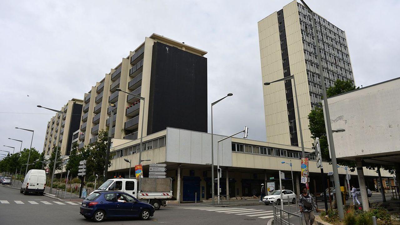 A Sarcelles (95), le centre commercial des Flanades est aujourd'hui majoritairement détenu par la Compagnie des immeubles parisiens.