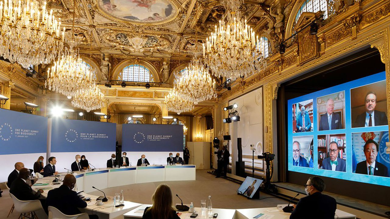 Une trentaine de chefs d'Etat, de dirigeants d'institutions internationales et de dirigeants de grandes entreprises ont pris la parole pour annoncer de nouveaux engagements ou faire le point sur ceux déjà pris, à l'occasion de quatrième One Planet Summit organisé lundi par la France.