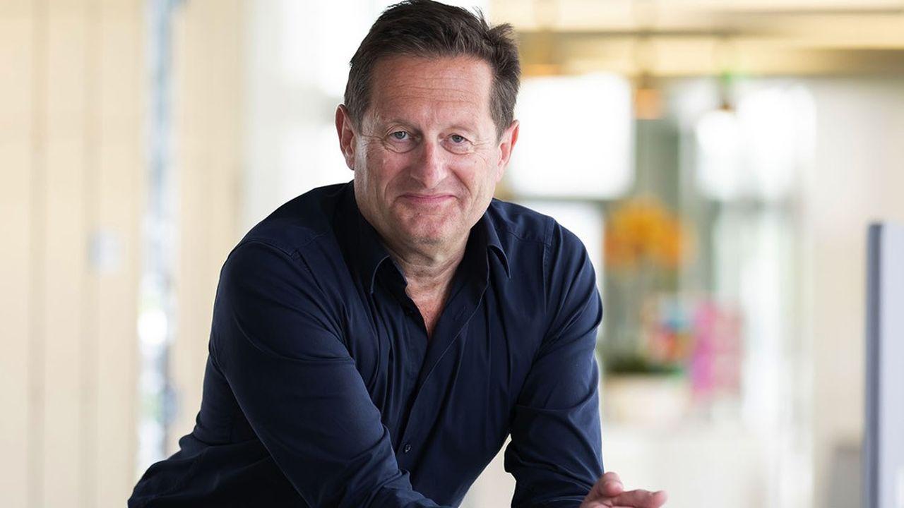 Bertrand Guilbaud, directeur général de l'Institut de recherche technologique rennais b <>com.