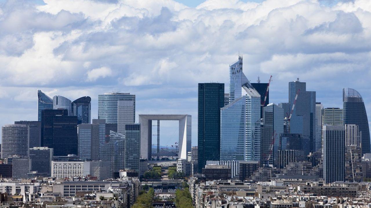 La Défense, à Paris.