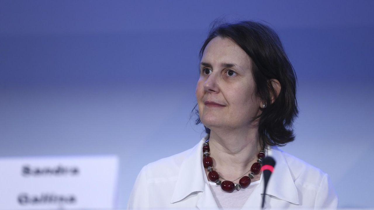 La négociatrice européenne auprès des laboratoires, Sandra Gallina.
