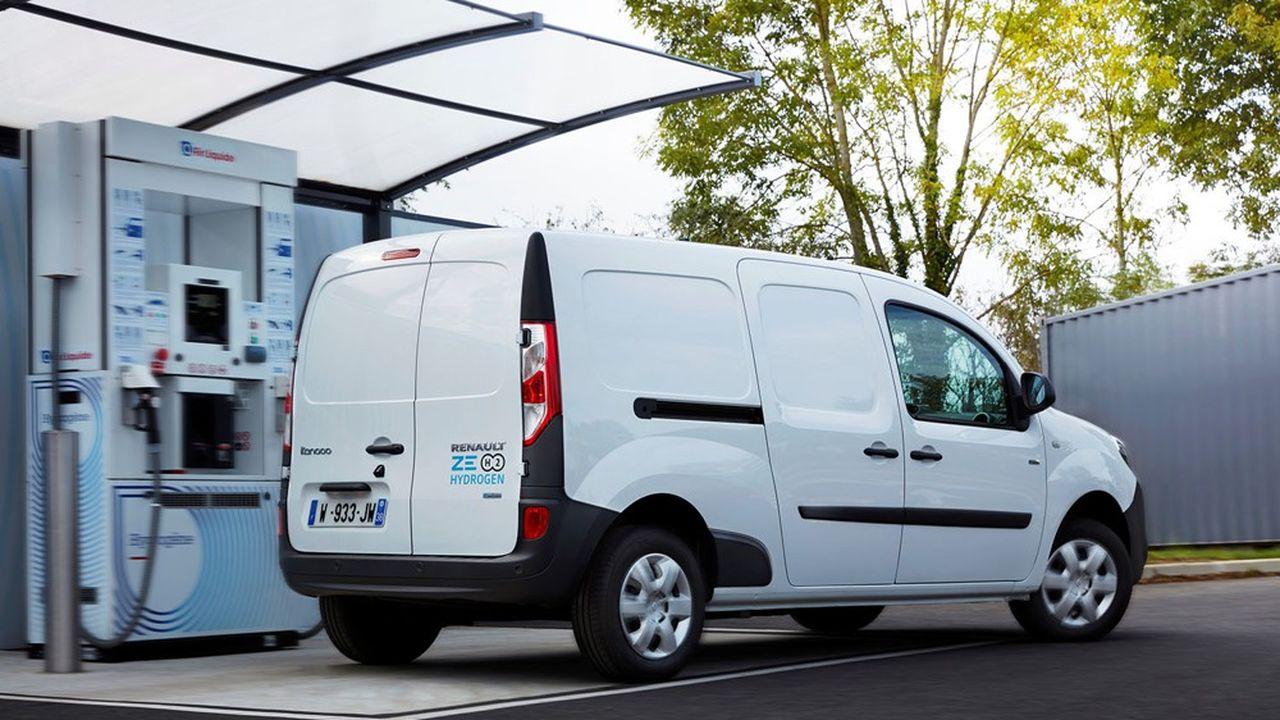Renault a déjà équipé des Kangoo et des Master électriques de piles à combustible destinées à en prolonger l'autonomie.
