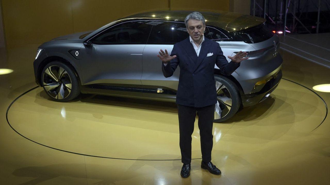Luca de Meo, le directeur général de Renault, présentera jeudi le plan produit de chaque des quatre marques du groupe.