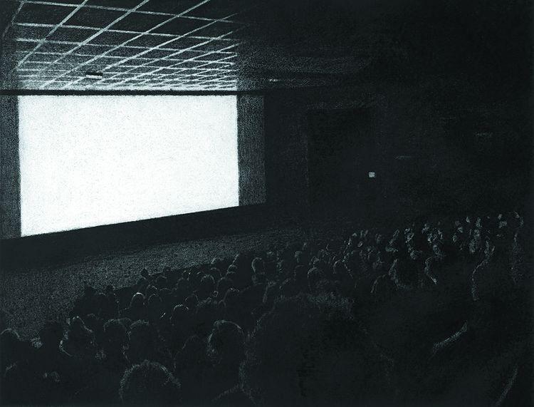 «Le Cinéma» (2018), dessin de Thomas Lévy-Lasne.