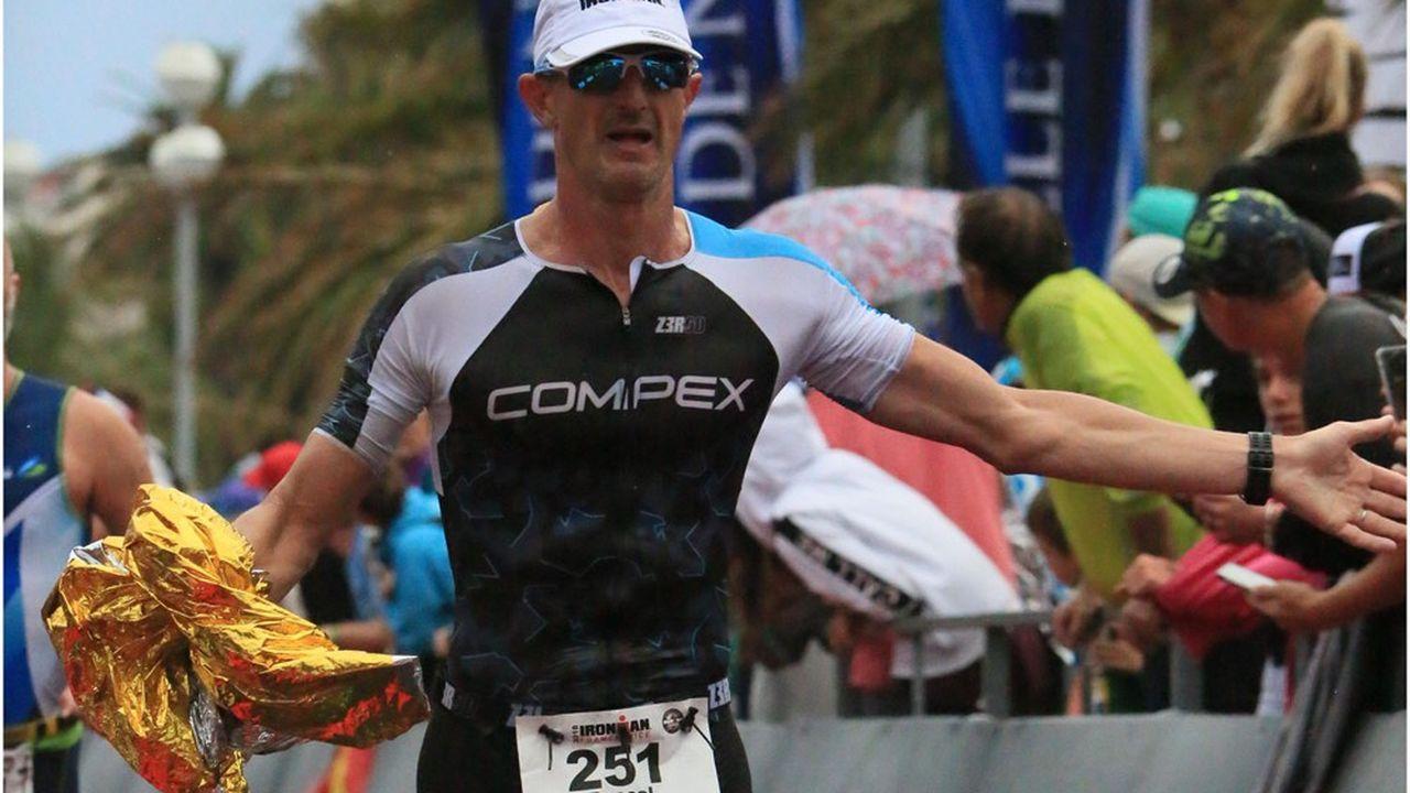 Pascal Bily, directeur général de Compex, spécialiste des appareils d'éléctro-musculation pour les sports d'endurance.