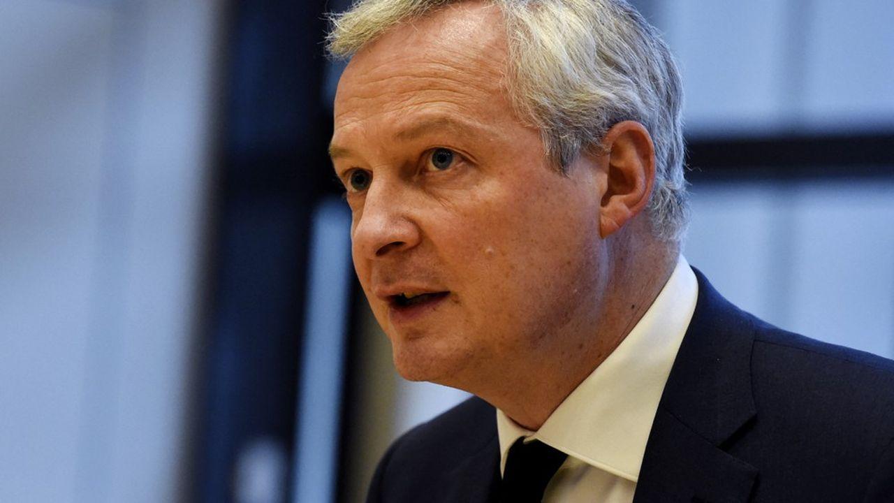 Le ministre de l'économie Bruno Le Maire